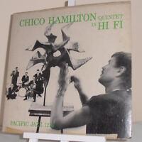 CHICO HAMILTON Quintet in HI-FI...Pacific Jazz PJ 1216...1956