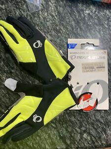 NEW! Pearl Izumi Cyclone Gel Women's Bike Cycling Gloves 14241605 Black Medium