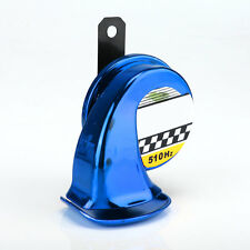 12V Mini Loud Electronic Snail Horn For Auto Motorcycle Loud Voice Speaker Blue