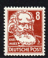 East Germany 8pf Stamp 1952-53 Unmounted Mint Never Hinged (4977)