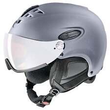 Uvex Hlmt 300 Visor Ski Helmet - Silver