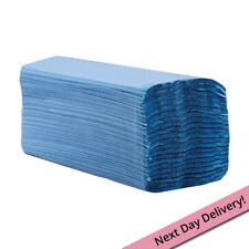 Paper Hand Towels, C Fold, 1 Ply Blue 2560 sheets (code 413)