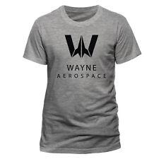 Official Wayne Aerospace T Shirt Justice League Batman Gotham Dark Knight DC Com