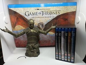 Game of Thrones Night King Bust Exc Gold Collectors blu-ray 1-6 Boxset Limited