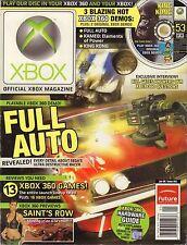 Xbox Magazine January 2006 Full Auto, Saint's Row No Demo Disc VG 072916DBE