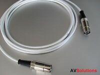 1 M. BeoLab Speaker Cable for Bang & Olufsen B&O PowerLink Mk2 (White,SHQ)
