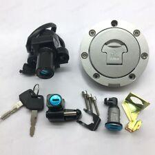 Ignition Switch Fuel Gas Cap Seat Lock Key Set For Honda RVF400/VFR400/NC30/NC35