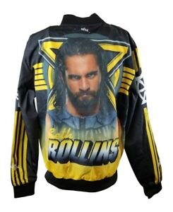 Seth Rollins WWE Fanimation Chalkline Jacket