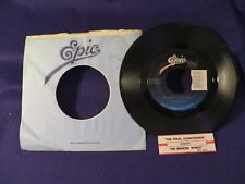 EUROPE The Final Countdown/On Broken Wings 45 Record EPIC RECORDS