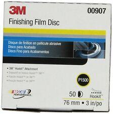 """3M 260L 00907 Hookit 3"""" P1500 Grade Finishing Film Disc"""