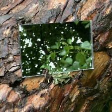 CREDIT CARD SIZED LIGHTWEIGHT SHATTER PROOF ACRYLIC MIRROR BUSHCRAFT SURVIVAL