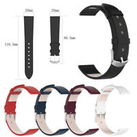 Genuine Leather Watch Band Wrist Straps Bracelet For Garmin vivoactive 3