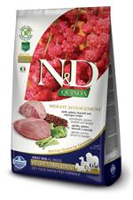 Farmina N/D Quinoa Grain Free Adult All Breed Weight Management Agnello 7 Kg