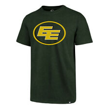 Men's Edmonton Eskimos Imprint Primary Big Logo CFL Football Green T Shirt '47