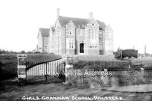Qlp-16 The Girls Grammar School, Halstead, Essex. Photo