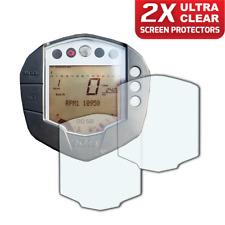 2 x KTM RC125 RC390 Duke 125 Duke 390 Screen Protector: Ultra-Clear