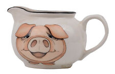 Pig Earthenware Creamer Made in U.K By Arthur Wood Pottery Farm Animal *New*