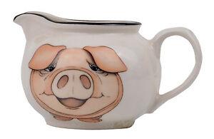 Pig Earthenware Creamer Made in U.K By Arthur Wood Pottery Farm Animal *New*