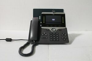 Cisco 8800 Ser. CP-8865-K9 Unified IP Endpoint VoIP Video Phone w Camera & Stand