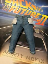 Hot Toys Back to the Future 2 Marty McFly Blue Jeans loose 1/6th scale