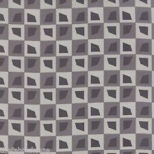 MODA Amy Ellis SERENITY Grey Geometric Bricks Grey Quilt Fabric Fat Quarter