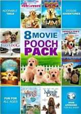8 Movie Pooch Pack (The Retrievers / The Gold Retrievers / Cop Dog / NEW DVD