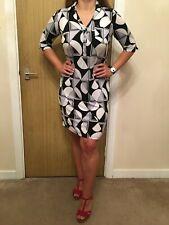 T.M. Lewin Patterned Tunic Dress - UK Size 10