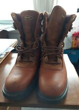 Men's Wolverine 8 inch Goodyear Welt Brown Lace Up Boot size 12m