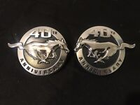2004 FORD MUSTANG 40th ANNIVERSARY EMBLEM LOGO PONY