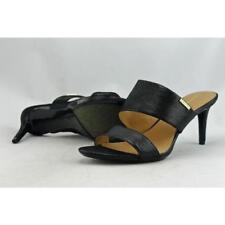 Sandali e scarpe nere Calvin Klein sintetico per il mare da donna