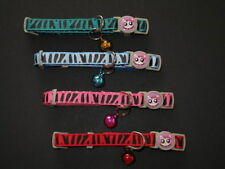 Nylon Cat Collars & Tags with Bell