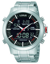 LNP RW601AX9 Lorus Gents Cronografo Dual Display