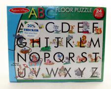 Melissa & Doug #441 ABC Animal Alphabet Floor Puzzle 2x3 Feet 24 Jumbo pieces