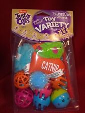 Hartz Just For Cats Toy 13 Ct Variety Pack cat toys catnip mouse balls fish wand