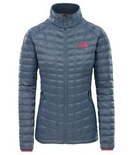 The North Face Womens THERMOBALL Jacket XS - GREY - measurements in listing text
