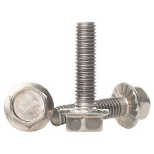 M6 A2 STAINLESS STEEL SERRATED FLANGED HEX HEAD BOLTS FLANGE SCREWS DIN 6921