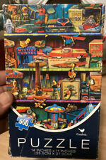 TOY PUZZLE VINTAGE ON SHELF 500 PC CARDINAL 2015 AIMEE STEWART NEW 176458 Sealed