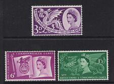 GB 1958 Commemorative Stamps~Games~Unmounted Mint Set~UK Seller