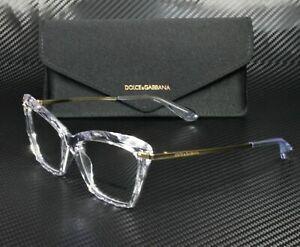 DOLCE & GABBANA DG5025 3133 Crystal Cat Eye Women's 53 mm Eyeglasses