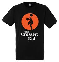 THE CROSSFIT KID T-shirt - Karate Kid parody - M & F - XS to XXXL - Reebok Rogue