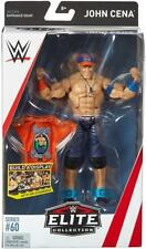 John Cena WWE Mattel Elite Series 60 New Action Figure Toy - In Stock - Mint Pkg