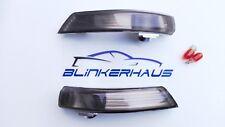 SCHWARZE Seitenblinker Spiegel Blinker Ford Focus Mk2 ST Mk3 RS 500 Mondeo Mk4