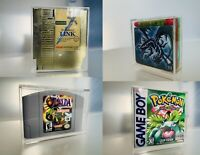 Custom Acrylic Display Case For Nintendo GameBoy/N64/NES Games or SP Console