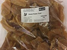 1Kg  Sweet Potato Treats ~ 100% Natural, Nutritious & Healthy Dog Treats