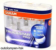 OSRAM h1 24v truckstar camion star +100% de lumière 2 lots +++ offre +++