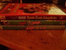 Lot of 3 Bratz DVD's Sleep Over Adventure, Super Babyz, Babyz the Movie!