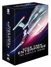 Star Trek:Enterprise The Complete Series (DVD,2017,27-Disc Set,Seasons 1-4) NEW