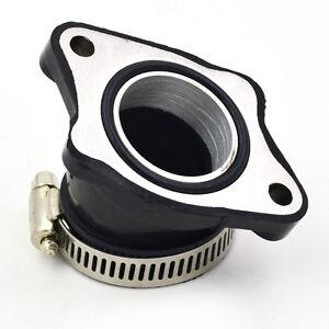 34MM Carburetor Rubber Intake Manifold For OKO Mikuni Carb Dirt Pit Bike