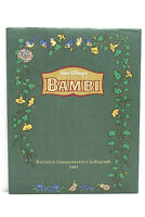 Walt Disney's Bambi Exclusive Commemorative Lithograph (1997)