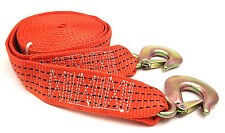 Tow Strap 5cm x 6M 2000kg Emergency truck auto car atv towing with HD hooks